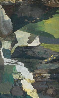 """'De natuur is nu eenmaal smerig' De Deense kunstenaar Per Kirkeby werkt maanden, soms jaren aan een werk. """"Een schilderij moet volwassen worden"""", zegt hij"""