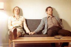 Liv Ullman & Erland Josephson in Bergman's SCENES FROM A MARRIAGE.