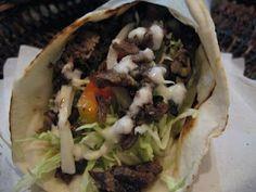 Beef, chicken or lamb shawarma