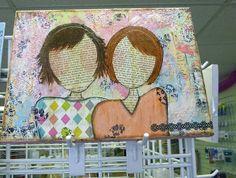 Ally Scraps: canvas
