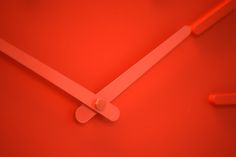 Pop clock by Kvell. Clean lines and timeless design, Pop is a staple timepiece for any home. Pop comes in a range of unique colors to add some oomph to your walls.