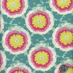 Amy Butler - Soul Blossoms  Buttercups ab62