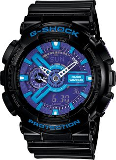 c3adf5e5d60 Casio Men  G-Shock Black and Red Multi-Function Digital Watch