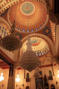 Inside Muhammad El Amin Mosque, Beirut