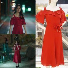 Seo Hyun Jin, Beauty Inside, Korean Celebrities, Vintage Vibes, Floral Maxi Dress, Kdrama, Celebrity Style, Cold Shoulder Dress, One Piece