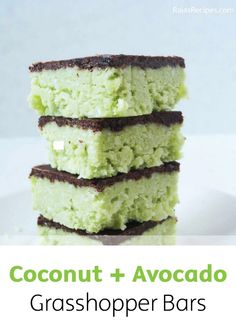What do you get when you mix sweet coconut and savory avocado? A super-healthy dessert recipe that you'll love serving at family parties. Click here for the quick and easy recipe!