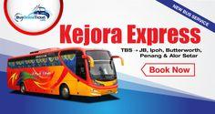 Kejora Express provides bus service departs from Kuala Lumpur to various parts of Malaysia