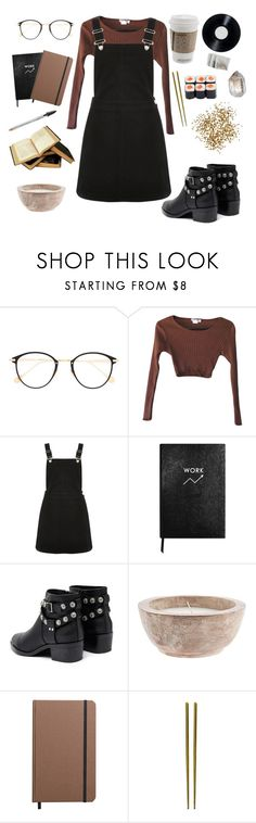 """""""working it out"""" by youvegotraye ❤ liked on Polyvore featuring Frency & Mercury, Oasis, Sloane Stationery, Senso, Shinola and Mepra"""