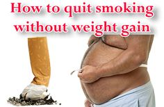 How to quit smoking without weight gain #smoking #weightloss