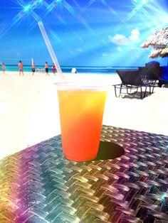 my beach cocktail - i like to play with pictures lol