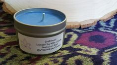 Driftwood Scented Soy Candle by WillowGroveCandles on Etsy
