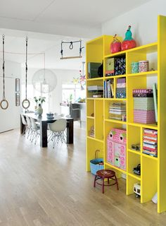 Love bookshelf design. Great for kids room or game room. Give it a new color. Make as small or big as you want!