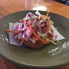 It\'s Tostada Tuesday @boca31.denton & you\'ve never had one this good before! Chipotle Pulled Pork  Pickled Slaw- Garlic Crema  3.50$ea  #dentonslacker #boca31 #tostadatuesday #chipotle #pulledpork #denton #dentontx #dentontexas #dentonite #dentoning #unt #twu #doingitdenton #dentonproud #wedentondoit #wddi #discoverdenton