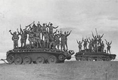 Japanese Forces - Halkin-Gol (Nomonhan) Russian BT tanks captured by Imperial Japanese Army.