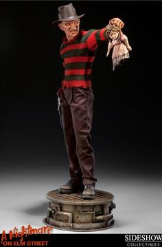 Miniaturas e Colecionismo - Freddy Krueger