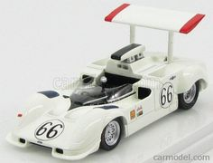 TRUESCALE TSM114346 Scale 1/43  CHAPARRAL 2G N 66 LA TIMES GP 1968 J.HALL WHITE RED