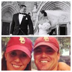 Cariana (Loehr) Bulman '08 and Tim Bulman '05 didn't really meet until Tim's sister introduced the two in 2006, after Tim had graduated. With Tim living in Arizona and then Houston, the two dated long distance for three years before they got engaged in 2010, and Cari moved down to Houston. They were married in March 2011, with 35 BC alum in attendance! They are thrilled to be living back in Boston, and love that they're finally a quick T ride away from fall football games.
