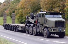 Oshkosh Military Truck - heavy haul