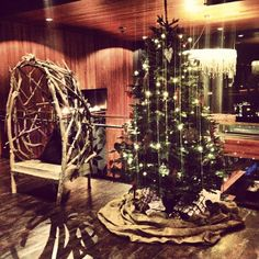 Christmas atmosphere in the lobby! #ParkInntrysil http://www.parkinn.com/resort-trysil