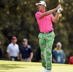2016 Masters Questionable Attire: Billy Horschel's flamingo pants - Golf Digest