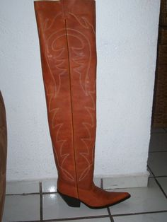 Custom 16 inches high cowboy boots men or woman sizes | Cowboys I
