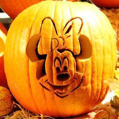 Minnie Mouse Pompoen