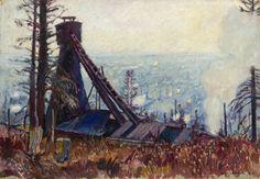 """Władysław Jarocki - Cykl """"Borysław"""" 1912 r."""