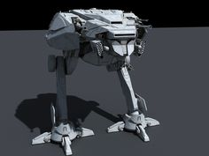 All-Terrain Storm Walker (AT-SW) by Ansel Hsiao on ArtStation.