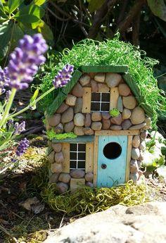 Miniature stone house garden 21 - Miniature stone house garden 21 Source by - Mini Fairy Garden, Fairy Garden Houses, Dream Garden, Home And Garden, Fairy Village, Garden Terrarium, Terrariums, Gnome House, Fairy Doors