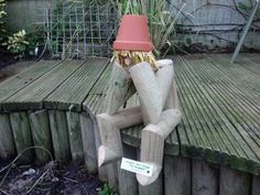 The Dreamer (we all have them!) Flower Pot Man ;o)