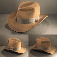 988ea239119 Starting the week off right finishing this  indianajones  thelastcrusade   fedora  hat from