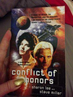 """Conflict of Honor"" by Sharon Lee and Steve Miller. Available through Amazon used books only at the moment."