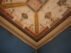 Italianate ceiling, grottesca