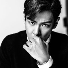 T.O.P for EXILE JAPAN Magazine Volume 93 That strong gaze... #탑 #최승현 #BIGBANG…