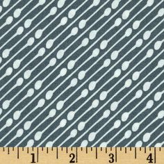 Designed for Art Gallery, this cotton print fabric is perfect for quilting, apparel and home decor accents. Art Gallery Fabric features 200 thread count of finely woven cotton. Colors include slate grey and white.