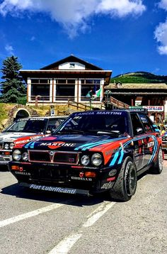 Lancia Delta HF Integrale Gr.A..🇮🇹 Lancia Delta, Racing, Cars, Products, Style, Rolling Carts, Autos, Rally, Running