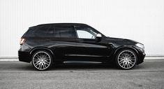 Details van de door Hamann getunede BMW X5