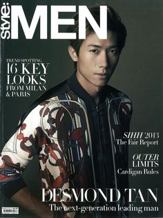 Gucci Cover - Style Men Singapore, March 2013