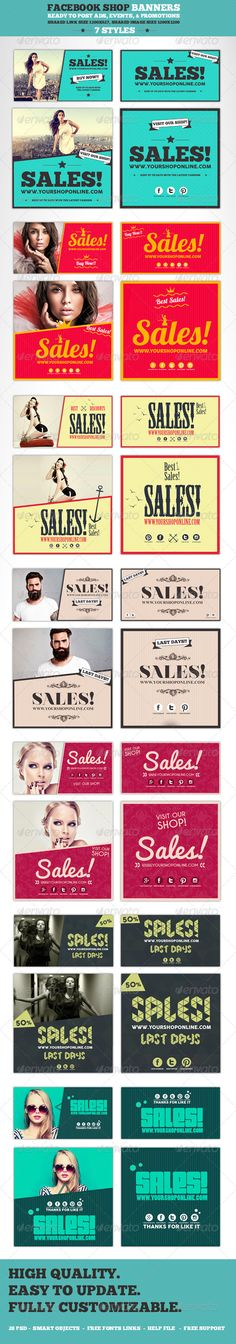 Facebook Post Banners Template PSD   Buy and Download: http://graphicriver.net/item/facebook-post-banners/8545243?WT.ac=category_thumb&WT.z_author=ConectoStudio&ref=ksioks