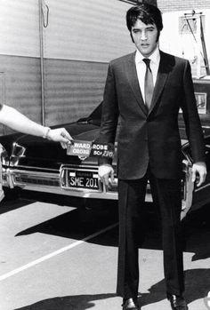 Elvis Tupelo Police Silver Color Tie Pin