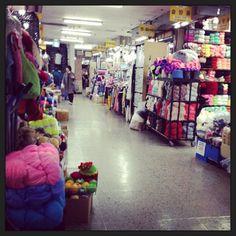 Shopping for Craft Supplies at Dongdaemun FabricMarket