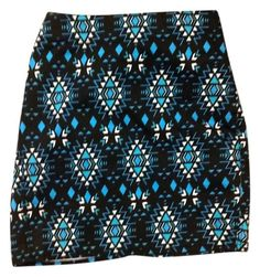Divided By H&M Aztec Print Geometric Mini Skirt. Free shipping and guaranteed authenticity on Divided By H&M Aztec Print Geometric Mini Skirt at Tradesy. Cute patterned skirt...