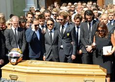 Jules Bianchi's funeral, 1989-2015 #ripjules #ciaojules