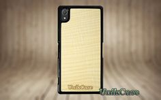 Sony Xperia Z2 real Maple wood case Vintage handmade par UnikCase1
