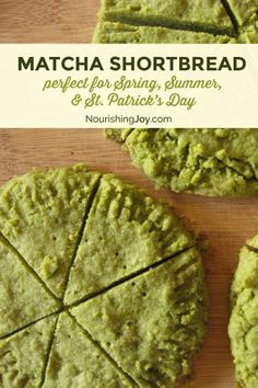These delicious, green-hued shortbread cookies are sure to please as a sweet treat on St. Patrick's Day.