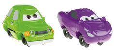 Fisher-Price GeoTrax Disney/Pixar Cars 2 Acer and Talking Holley Shiftwell by Fisher-Price. $13.89. All of the pieces in the GeoTrax System work together. Collect them all for a whole world of Disney/Pixar Cars 2 fun!. Recreate the excitement of the Disney/Pixar Cars 2 movie!. Includes both your favorite Cars 2 characters, Acer and Holley. Press down on Holley to hear cool phrases from the movie. From the Manufacturer                It's all the fun of GeoTrax...