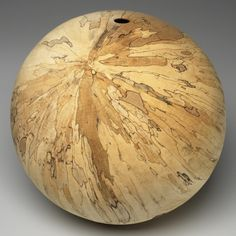 Conversations with Wood: Selections from the Waterbury Collection. David Ellsworth, Lunar Sphere, 2000.