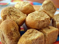 : The Banting Chef : Almond rusks Banting Bread, Banting Diet, Banting Recipes, Diabetic Recipes, Low Carb Recipes, Cooking Recipes, Rusk Recipe, Wheat Free Recipes, Low Carb Bread