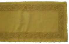 Gitika Goyal Home Khadi Chikanwork 70-Inch Runner Tulip Design,Yellow by Gitika Goyal Home. $166.14. Delicate Machine Wash Please Expect Some Unevenness in Fabric and Embroidery as it is Completely Handmade Made in India. 11.5-Inch-by-70-Inch 100-Percent Cotton Khadi-Handmade-Fabric Chikanwork-Hand-Embroidery. 70-Inch Runner. Gitika Goyal Home presents Runners from a Table Linen collection in hand-spun and hand-woven Khadi fabric with Chikan hand-embroidery in...