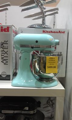 Naomi, Empire Lifestyle.  KitchenAid Benchtop Mixer, $499.00